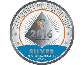 PBIS Award winning medal