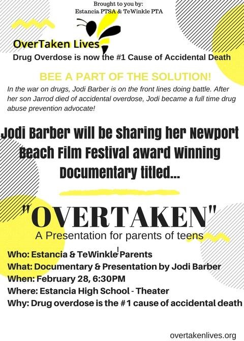 Parent presentation flyer