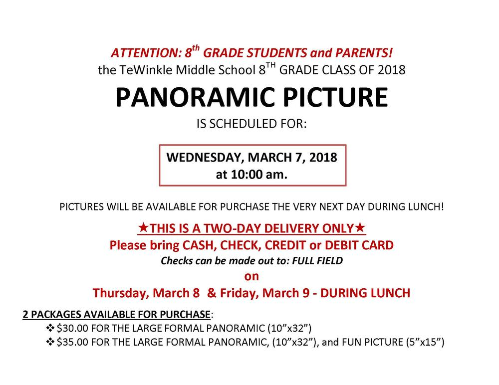 panoramic photo flyer